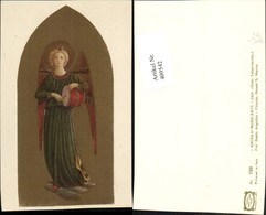 409542,Künstler AK Fr Beato Angelico Angelo Musicante Engel M. Trommel - Engel