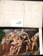 409555,Künstler AK Rubens Ercole Fra Il Vizio E La Virtu Engeln Erotik - Engel