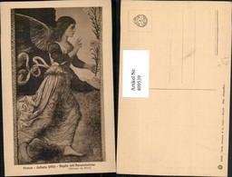 409539,Künstler AK Melozzo Da Forli Engel Galleria Uffizi Angelo Dell Annunziazione - Engel