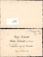 409648,Anzeige Vermählung Josef U. Hilde Schadek 1939 - Hochzeiten