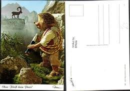 409606,Mecki 456 Ohne Fleiß Kein Preis Igel Fernglas Steinbock Pub Diehl-Film - Mecki