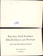 409650,Anzeige Vermählung Adolf U. Tilly Kretschmer 1942 - Hochzeiten