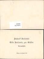 409649,Anzeige Vermählung Rudolf U. Elsa 1921 - Hochzeiten