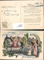 409684,Künstler AK Pferdekutsche Kutsche Engeln Engel Stadtplatz - Engel