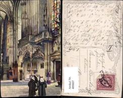 409807,Künstler AK Wien Innere Stadt Stephanskirche Leopoldialtar Pub B.K.W.I. 209/2 - Wien