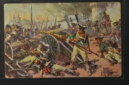 Postcard Fritz Neumann Napoleon War 1812 Battle Of Smolensk (1005) - Altre Guerre