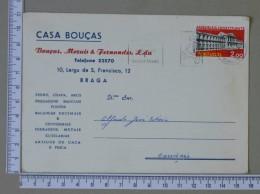 PORTUGAL    - CASA BOUÇAS    2 SCANS - (Nº15287) - Entiers Postaux
