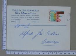 PORTUGAL    - CASA TAMEGÃO    2 SCANS - (Nº15290) - Postwaardestukken