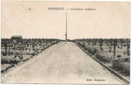 Somme Py Cimetiere Militaire Circulee En 1931 - Otros Municipios