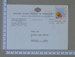 PORTUGAL    - EUROSPUMA    2 SCANS - (Nº15294) - Postwaardestukken