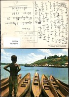 412106,Ivory Coast Elfenbeinküste Abidjan Pirogues Sur La Lagune Boote Kind - Ohne Zuordnung