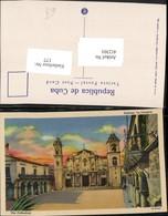 412301,Cuba Habana Havana La Catedral Kirche - Ansichtskarten