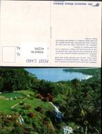 412295,Jamaica Ocho Rios Tropical Gardens Garten Wasserfall - Ansichtskarten