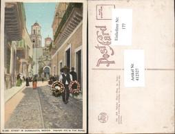 412327,Mexico Guanajuato Street In Guanajuata Straßenansicht - Mexiko