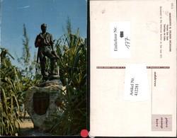 412281,Cuba Santiago De Cuba Parque San Juan Monumento Al Soldado Americano Statue - Ansichtskarten