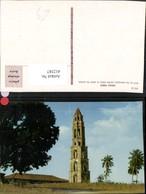 412387,Cuba Iznaga Tower Turm - Ansichtskarten