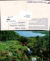 412313,Jamaica Ocho Rios Tropical Gardens Garten Wasserfall - Ansichtskarten