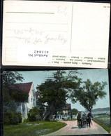 411842,Kutsche Straßenansicht M. Häuser - Taxi & Carrozzelle