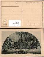 411838,Künstler Ak M. V. Schwind Das Hochzeitspaar Kutsche - Taxi & Carrozzelle