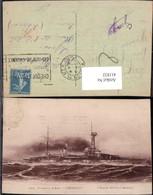 411832,Kriegsschiff Schiff Cuirasse A Turbines Lorraine Marine Militaire Francaise Kr - Krieg