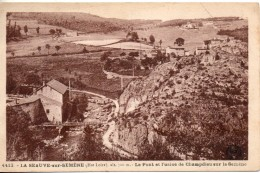 43. La Seauve Sur Semene. Le Pont Et L'usine De Champdieu Sur Semene - France