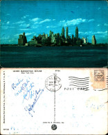 2796a)cartolina-  Lower Manhattan Skyline New York.city - Manhattan