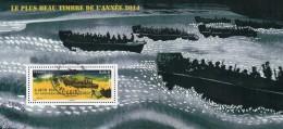 France Oblitération Cachet à Date BF N° F 4863 - 6 Juin 1944 70ème Anniversaire Du Débarquement - Sheetlets