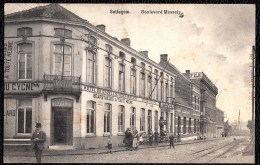 Zeldzame !! SOTTEGEM - ZOTTEGEM - Boulevard Mussely - Hotel Du Cygne - Zottegem