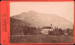 414246,CDV St Leonhard M. D. Bosruck Um 1880 Spital Am Pyhrn  Pub A. Red Linz - Fotos