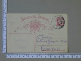 PORTUGAL    - BILHETE POSTAL    2 SCANS - (Nº15320) - Interi Postali