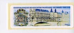 LISA 1/ 83 ème CONGRÈS FFAP PARIS 2010 - 2010-... Illustrated Franking Labels