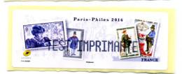 2016 LISA 1/SALON PARIS-PHILEX Les Journées Du Timbre/TEST IMPRIMANTE - 2010-... Illustrated Franking Labels