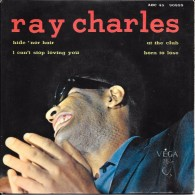 """Ray CHARLES-""""I Cant´ Stop Loving You""""-super 45 T.(4 Titres)+ Pochette- ATLANTIC-BE - Blues"""