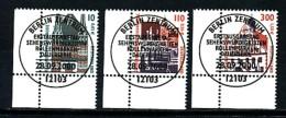 GERMANY Mi.Nr. 2139-2141 A Freimarken- Sehenswürdigkeiten -ESST Berlin - Eckrand Unten Links - Used - BRD