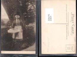 414619,Ansichtskartenverkäuferin Frau Tracht Volkstypen Europa - Europe
