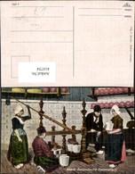 414754,Noord-Hollandsche Kaasmakerij Käsemacher Käse Niederlande Volkstypen Europa - Europe