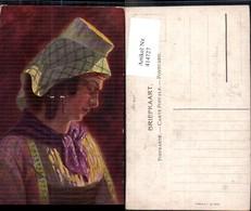 414727,Künstler Ak Joh. Gerstenhauer Frau Kopfbedeckung Volkstypen Europa - Europe
