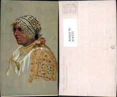 414733,Künstler Ak Joza Uprka Vazani Satku Frau Kopftuch Volkstypen Europa - Europe