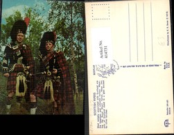 414731,Scottish Pipers Schottische Schottland Dudelsackspieler Volkstypen Europa - Europe