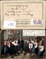414751,Künstler Ak J. W. Wallander Friaredans I Delso Tanzen Volkstypen Europa - Europe