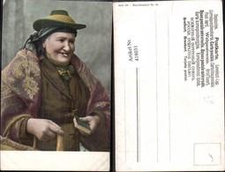 418031,Alte Frau Buch Hut Volkstypen Europa - Europe