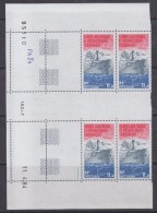 TAAF 1984 Patrouilleur Albatros / Ship 1v Bl Of 4 (corner, Printing Date)    ** Mnh (TA121E) - Luchtpost