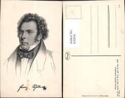 418254,Künstler Ak Franz Schubert Komponist Musik Pub Stengel Co 49010 - Schriftsteller
