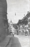 STEIN AM RHEIN → Belebte Strasse Beim Torbogen, Photo-Karte Anno 1920 - SH Schaffhouse