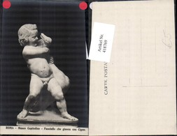 418769,Roma Rom Museo Capitolino Fanciullo Che Giuoca Con Cigno Bub Gans Statue Monum - Monuments