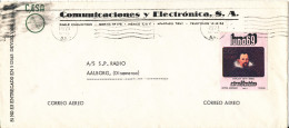 Mexico Cover Sent Air Mail To Denmark 24-4-1971 - Mexico