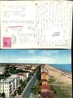 419379,Emilia-Romagna Rimini Miramare Di Rimini Panorama Teilansicht M. Strand - Rimini