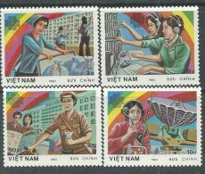 Vietnam N° 464 / 67  XX  Année Mondiale Des Communications,  Les 4 Valeurs Sans Charnière, TB - Viêt-Nam