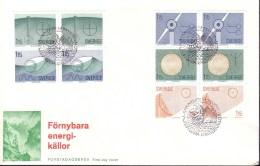 Sweden - FDC 29/1 1980 Förnybara Energikällor *ILLUSTRATED* - FDC