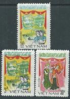 Vietnam N° 528 / 30  XX 5ème Anniversaire Du Traité D' Amitié Vietnam-Laos-Kampouchéa,  Les 3 Valeurs Sans Charnière, TB - Viêt-Nam